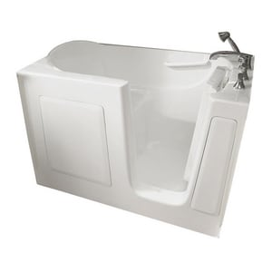 Safety Tubs 38 x 60 x 30 in. Gelcoat Walk-In Air Massage Tub with Right Hand Drain in White SSS6030RA