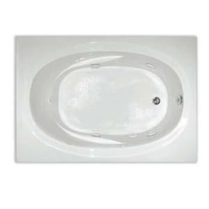 Aquarius Industries Contractors Advantage 60 x 42 in. Tub and Shower with Right Hand Drain in White ARNTAHI5WPFSRWH