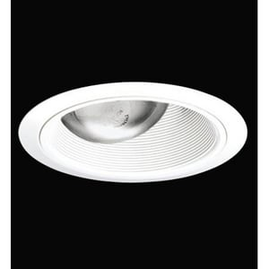 Juno Lighting 75W Adjustable Cone Baffle Trim in White J661209046383