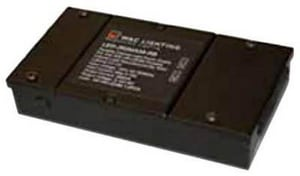 Lutron Electronics LED Light Dimmable Power Supply Remote Box in Black WLED350MA09DIMRB