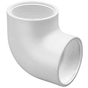 1-1/2 in. FIPT Threaded Straight Schedule 40 PVC 90 Degree Elbow S408015