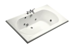 Kohler Memoirs® 72 x 42 in. Right-Hand Acrylic Whirlpool with Heater in White K1418-H2-0