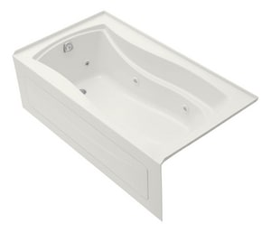 Kohler Mariposa® 66 x 35-7/8 in. Bathtub with Left Hand Drain in White K1224-HL-0