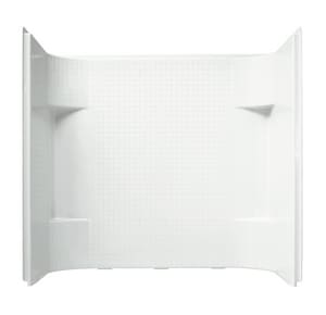 Sterling Accord® 60 x 55 in. Tub & Shower Wall  in White S711441060