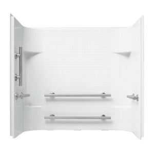 Sterling Accord 60 X 30 In Tile Wall Set Accord In White 71144113 0 Ferguson