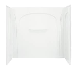 Sterling Acclaim® Shower Wall Set with Age-in-Place Backers in White S710941060