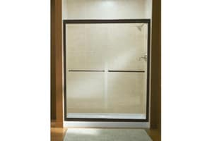 Sterling Finesse™ 70-31/100 x 59-5/8 in. Frameless Sliding Shower Door in Nickel S547559NG05