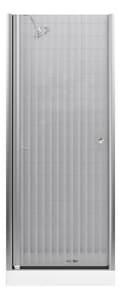 KOHLER Fluence® 76 x 30-1/4 in. Frameless Pivot Shower Door in Matte Nickel K702400-G54-MX