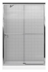 Kohler Fluence® 70-5/16 x 47-5/8 in. Frameless Sliding Shower Door K702208-L