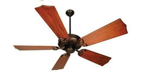 Craftmade International American Tradition 52 in. 23 lb. Fan Motor Only in Oiled Bronze CAT52OB