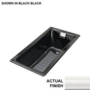 KOHLER Tea-for-Two® 60 x 32 in. Soaker Drop-In Bathtub Left Drain in White K850-0