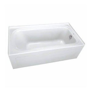 PROFLO® Plus Series 72 x 36 x 19-3/4 in Soaker Alcove Bathtub with Right Drain in White PFS7236RSK