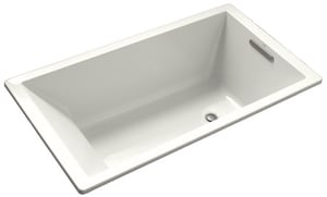 Kohler Underscore® 66 x 36 in. Soaker Drop-In Bathtub in White K1136-0
