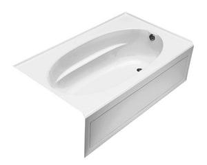 Kohler Windward® 60 x 42 x 21 in Soaker Alcove Bathtub with Right Drain in White K1113-RA-0