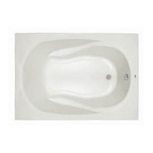 PROFLO® Lansford 60 x 42 in. Soaker Drop-In Bathtub with End Drain in White PFS6042AWH