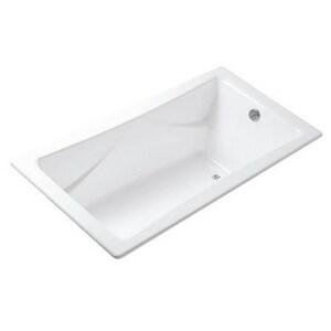 Kallista Michael S Smith 72 x 36 in. Stucco Michael Smith Cast Iron Bath Tub in White KP50035BA0