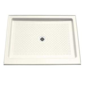 Kohler Kathryn® 48 in. Rectangle Shower Base in Biscuit K9025-96