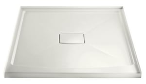 KOHLER Archer® 48 in. Square Shower Base in White K9394-0