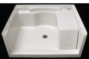 Sterling Accord® 48 in. Rectangle Shower Base in White S722811000