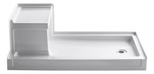 Kohler Tresham® 60 in. Rectangle Shower Base in White K1976