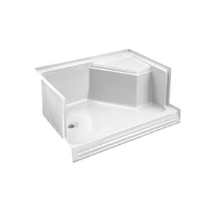 Kohler Memoirs® 60 in. Rectangle Shower Base in White K9489-0