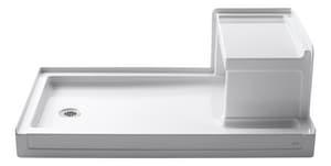 KOHLER Tresham® 60 in. Rectangle Shower Base in White K1979-0
