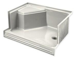 Kohler Memoirs® 60 in. Rectangle Shower Base in Biscuit K9496-96