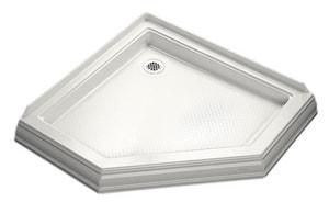Kohler Memoirs® 42 in. Neo-angle Shower Base in White K9542-0