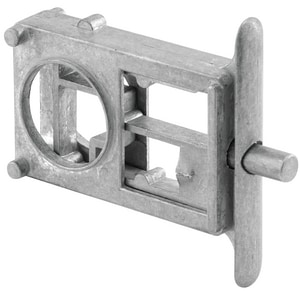 Primeline Products Zamak Concealed Unplated Latch Assembly in Polished Chrome P6506617