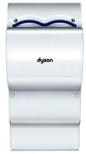 Dyson Airblade™ 26 in. 12A Wall Mount Hand Dryer in White D30185401