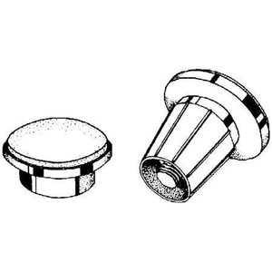 PROFLO® Metal Expansion Rod Holder in Polished Brass PFMERHPB