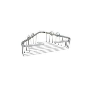 ROHL® Italian Country Bath Large Corner Basket in Polished Chrome RBSK15APC