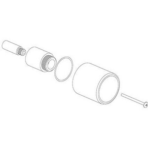 Fortis Thermostat Valve Extension Kit in Polished Chrome FEX71188