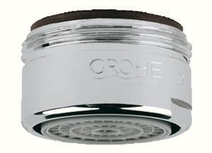 GROHE Universal 24mm Threaded Aerator in StarLight Chrome G13952000