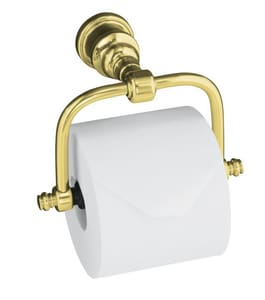 KOHLER iV Georges Brass® 4-1/2 in. Toilet Tissue Holder in Vibrant Polished Brass K6828-PB