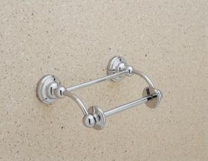 ROHL® Perrin & Rowe® Wall Mount Toilet Tissue Holder in Satin Nickel RU6960STN
