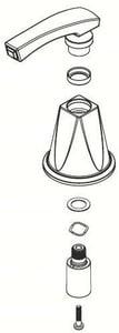 Moen Handle Kit in Brushed Nickel M134402BN