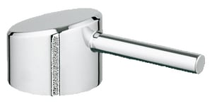 Grohe Universal 5-1/2 in. Brass Handle in Starlight Chrome G46754000