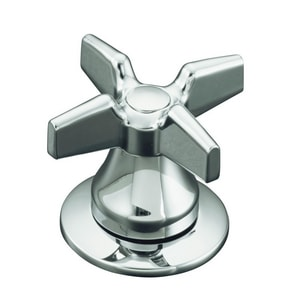 KOHLER Triton® Two Handle Cross Lavatory Kitchen in Polished Chrome K16010-3-CP