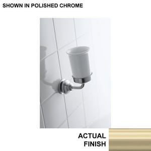 KOHLER Fairfax® Tumbler and Holder in Brushed Nickel K12161-BN