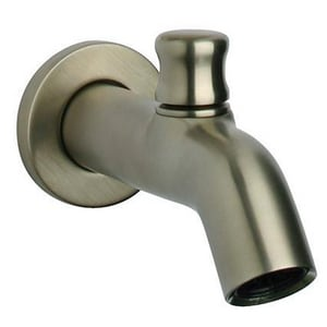 Fortis Milano 6-11/64 in. Diverter Tub Spout in Brushed Nickel F7843100BN