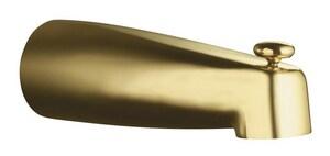 KOHLER Coralais® 8 in. Diverter Spout Bath Tub in Vibrant Polished Brass K15138-PB
