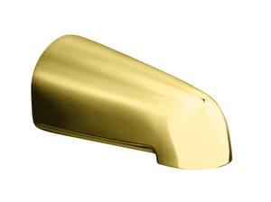 Kohler Devonshire® Wall Mount Non-Diverter Bath Spout in Vibrant Polished Brass K373-PB