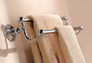 Ginger USA Chelsea 24 in. Double Towel Bar in Polished Chrome G112224PC