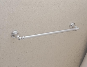 ROHL® Perrin & Rowe® 18 in. Towel Bar in Polished Nickel RU6940PN