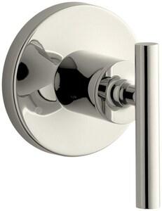 KOHLER Purist® Single Handle Bathtub & Shower Faucet in Vibrant® Polished Nickel (Trim Only) KT14491-4-SN