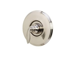 Pfister Avalon™ Valve Trim Only with Single Metal Lever Handle in Brushed Nickel PR891CBK