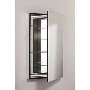 Robern 39-3/8 in. Left Hand Flat Door Electric Beveled Mirror Cabinet RMP24D4FBLE