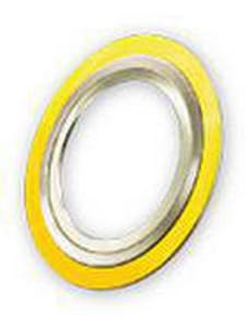 Flexitallic 4 in. 300# 304L Stainless Steel and Flexible Graphite Spiral Wound Gasket FCGI3004GTAP