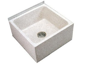 Acorn Engineering Terrazzo-Ware® 24 x 24 in. Mop Basin in Polished Chrome ATSH24